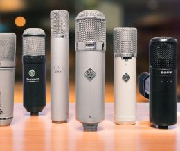 CURIOUS ABOUT STUDIO MICS?