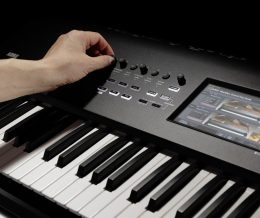 Korg's Nautilus workstation offers multiple sound engines